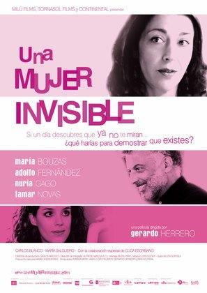 Mujer invisible, Una - Spanish Movie Poster (thumbnail)