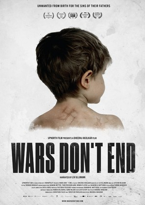 Wars Don't End - Norwegian Movie Poster (thumbnail)