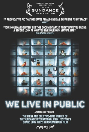 We Live in Public - Movie Poster (thumbnail)