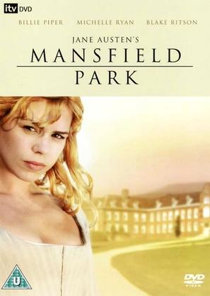 Mansfield Park - British DVD cover (thumbnail)