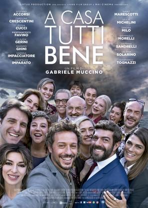 A casa tutti bene - Italian Movie Poster (thumbnail)