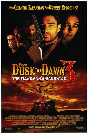 From Dusk Till Dawn 3: The Hangman's Daughter - Video release poster (thumbnail)