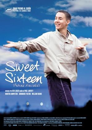 Sweet Sixteen - Spanish Movie Poster (thumbnail)