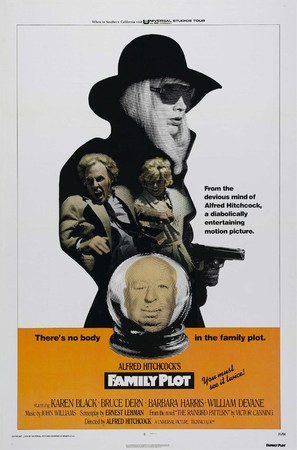 Family Plot - Theatrical movie poster (thumbnail)