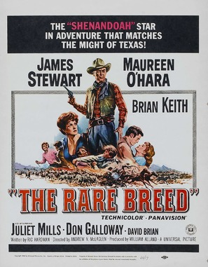The Rare Breed - Movie Poster (thumbnail)
