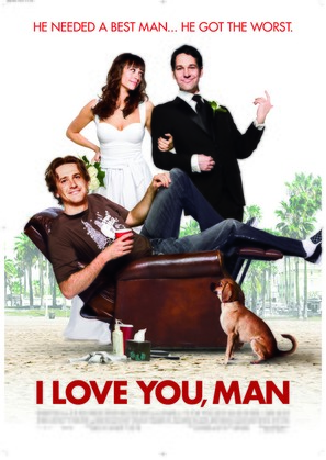 I Love You, Man - Theatrical movie poster (thumbnail)