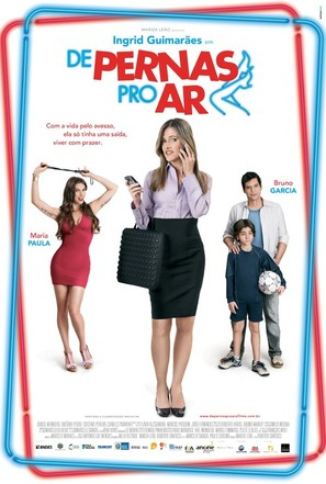 De pernas pro ar - Brazilian Movie Poster (thumbnail)