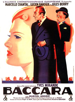 Baccara - French Movie Poster (thumbnail)
