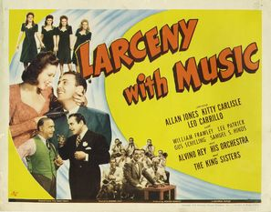 Larceny with Music - Movie Poster (thumbnail)