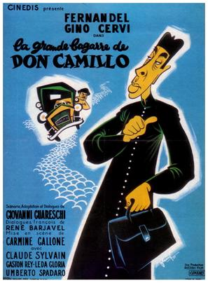 Don Camillo e l'onorevole Peppone - French Movie Poster (thumbnail)