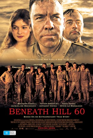 Beneath Hill 60 - Australian Movie Poster (thumbnail)