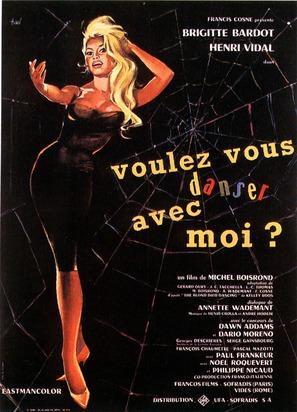 Voulez-vous danser avec moi? - French Movie Poster (thumbnail)