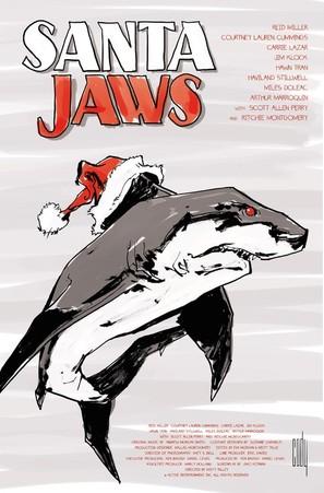 Santa Jaws - Movie Poster (thumbnail)