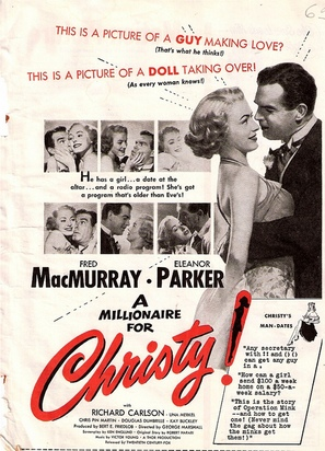 A Millionaire for Christy - Movie Poster (thumbnail)