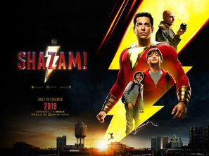Shazam! (2019) British movie poster