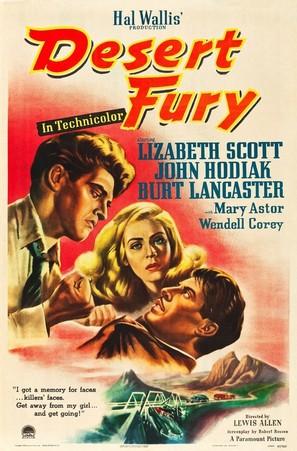 Desert Fury - Movie Poster (thumbnail)