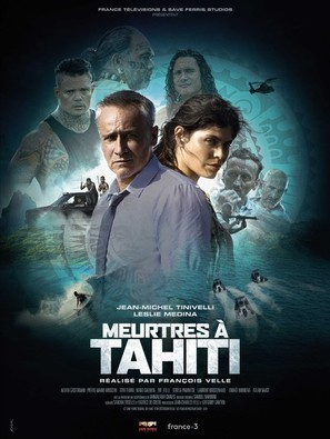 """Meurtres à..."" Meutres à Tahiti - French Movie Poster (thumbnail)"