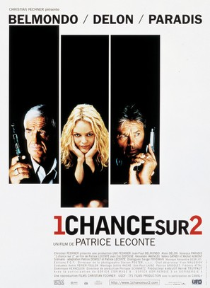 Une chance sur deux - French Movie Poster (thumbnail)