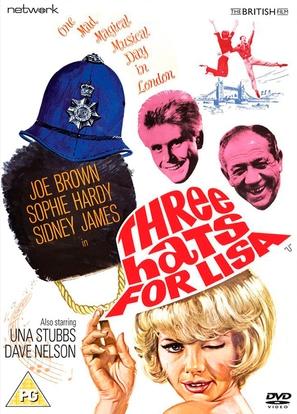 Three Hats for Lisa - British DVD movie cover (thumbnail)