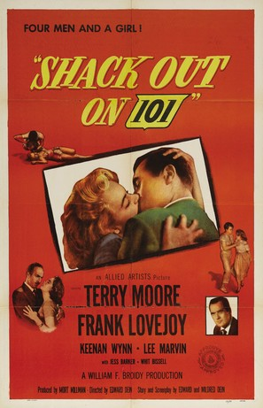 Shack Out on 101 - Movie Poster (thumbnail)