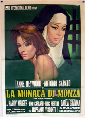 La monaca di Monza - Italian Movie Poster (thumbnail)