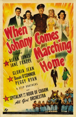 When Johnny Comes Marching Home - Movie Poster (thumbnail)