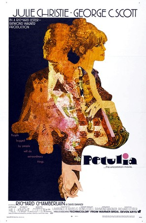 Petulia - Theatrical movie poster (thumbnail)