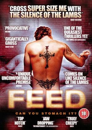 Feed - British DVD movie cover (thumbnail)