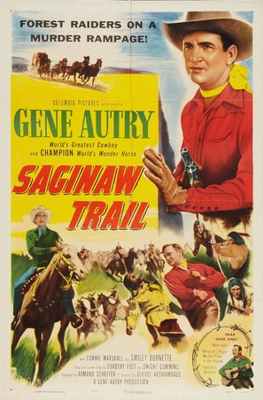 Saginaw Trail - Movie Poster (thumbnail)