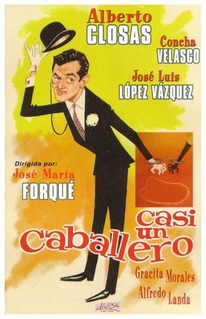 Casi un caballero - Spanish Movie Cover (thumbnail)