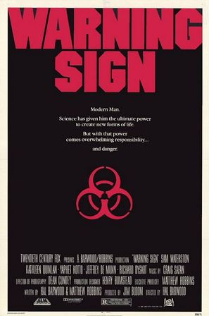 Warning Sign - Movie Poster (thumbnail)