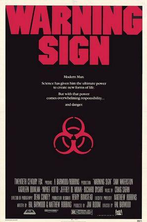 Warning Sign - Movie Poster (thumbnail)