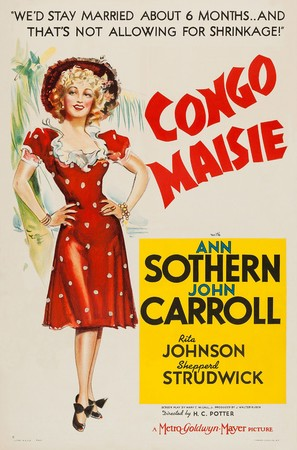 Congo Maisie - Movie Poster (thumbnail)