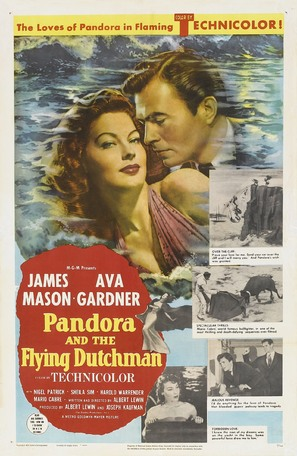 Pandora and the Flying Dutchman - Movie Poster (thumbnail)