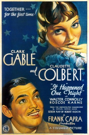It Happened One Night - Theatrical movie poster (thumbnail)