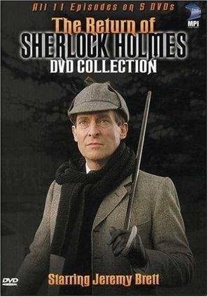 """The Return of Sherlock Holmes"" - DVD cover (thumbnail)"