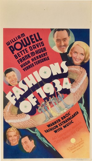 Fashions of 1934 - Movie Poster (thumbnail)