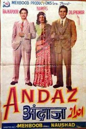 Andaz - Indian Movie Poster (thumbnail)