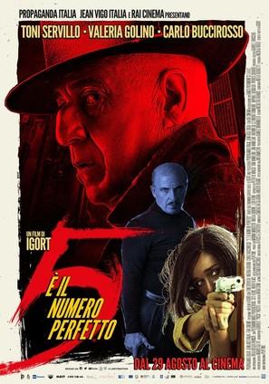 5 è il numero perfetto - Italian Movie Poster (thumbnail)