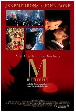M. Butterfly - Movie Poster (thumbnail)