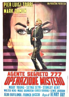 Agente segreto 777 - Operazione Mistero - Italian Movie Poster (thumbnail)