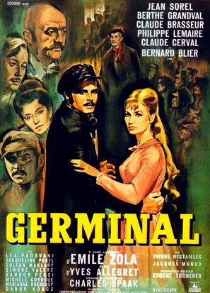 Germinal - French Movie Poster (thumbnail)