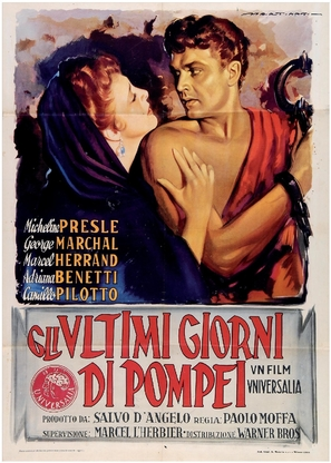 Gli ultimi giorni di Pompei - Italian Movie Poster (thumbnail)