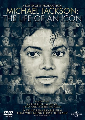 Michael Jackson: The Life of an Icon - DVD cover (thumbnail)