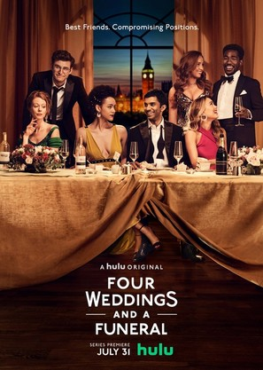 """""""Four Weddings and a Funeral"""" - Movie Poster (thumbnail)"""