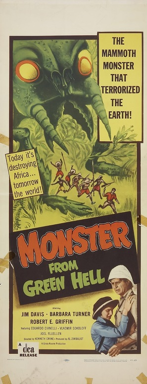 Monster from Green Hell - Theatrical poster (thumbnail)