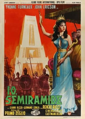 Io Semiramide - Italian Movie Poster (thumbnail)