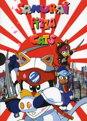 """Samurai Pizza Cats"" - Movie Cover (thumbnail)"