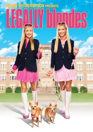 Legally Blondes - DVD cover (thumbnail)