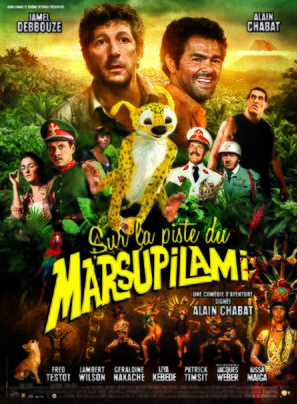 Sur la piste du Marsupilami - French Movie Poster (thumbnail)
